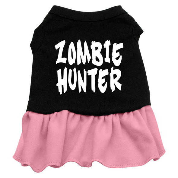 zombie hunter dress dog