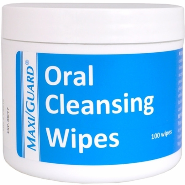 maxi guard oral cleansing wipes