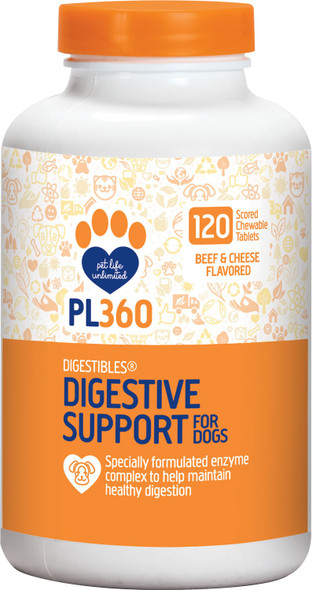 Digestibles Digestive Support for Dogs, Beef and Cheese Flavor