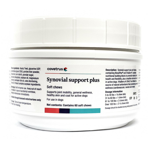 SYNOVIAL SUPPORT PLUS COVETRUS 60CT