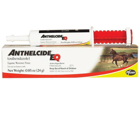 Anthelcide (Oxibendazole) EQ Wormer Paste