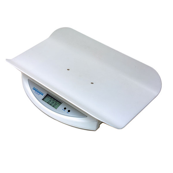 44 lb (20 kg) capacity with 0.5 oz (10 g) resolution