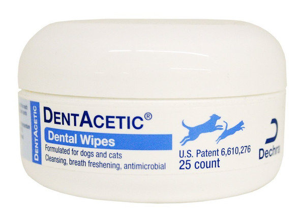 dentacetic wipe