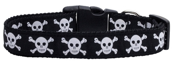 Classic Skulls Halloween Dog Collars and Leashes