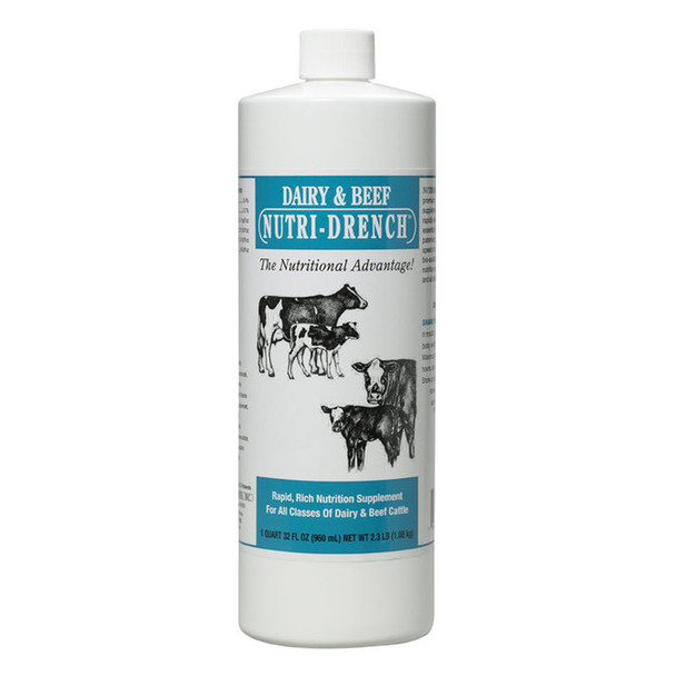 Nutri-Drench Dairy and Beef Nutritional Supplement