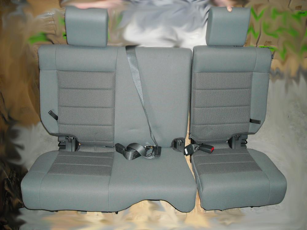 Jeep Wrangler Oem Rear 60 40 Split Folding Seat W Seat Belts