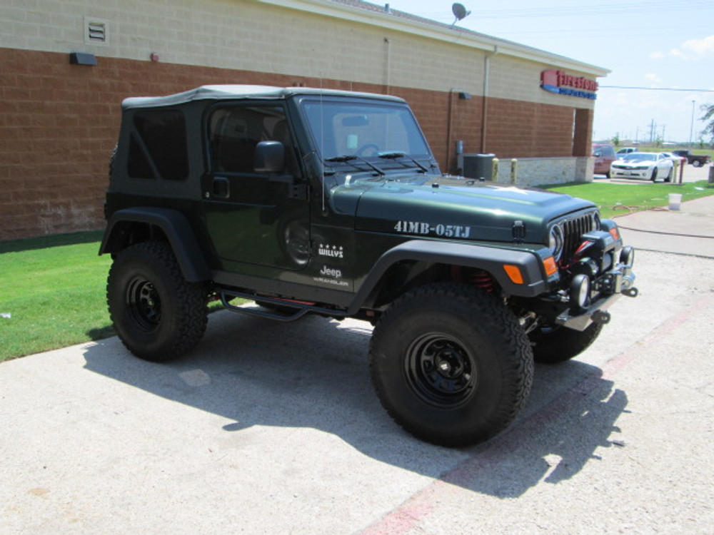 Moss Bros Jeep >> SOLD 2005 Jeep TJ Wrangler Willys Edition Stock# 318946 - Collins Bros Jeep