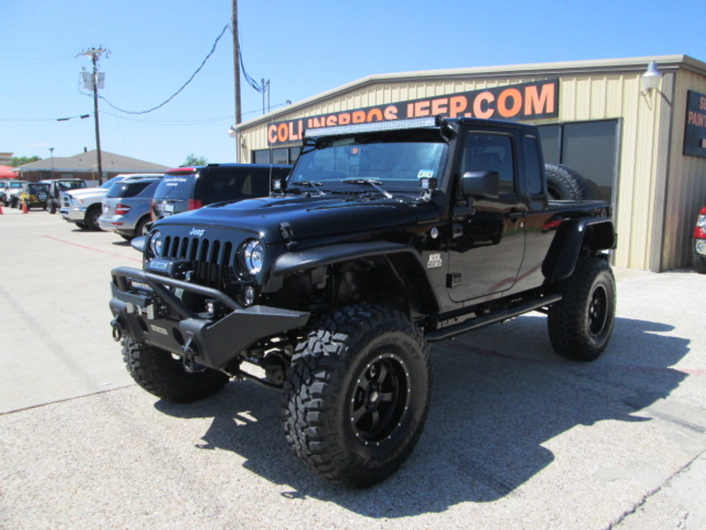 Jeep Jk 8 >> Sold 2014 Black Mountain Jk 8 Wrangler Truck Stock 312175 Collins