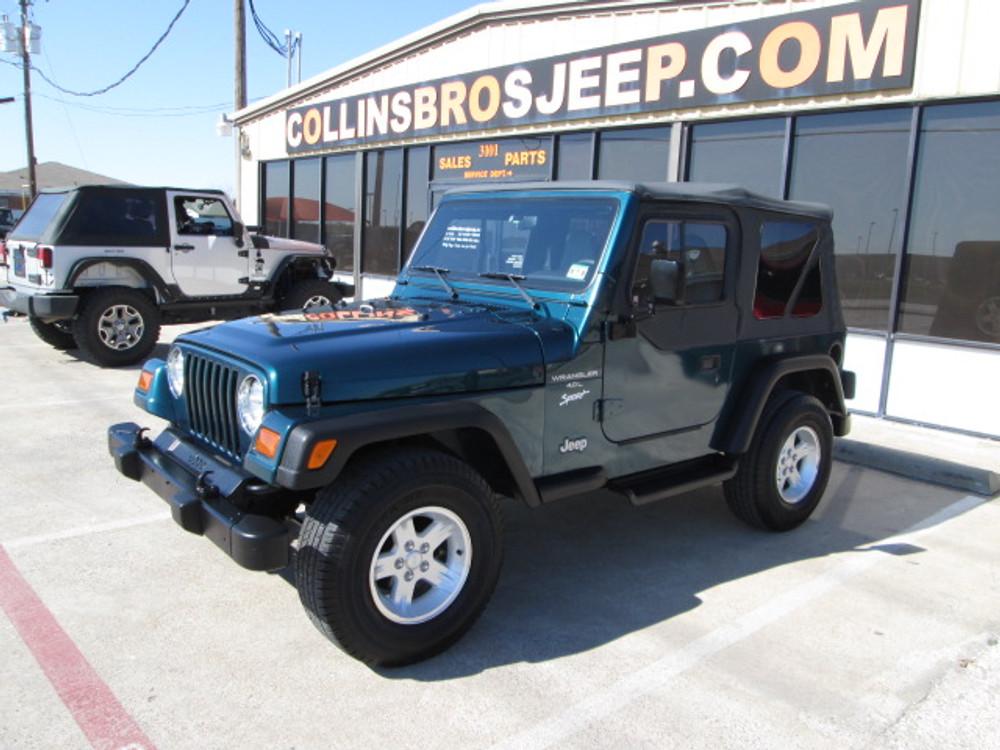 1997 jeep tj brake switch wiring sold 1997 jeep wrangler tj sport stock 502771 collins bros jeep  sold 1997 jeep wrangler tj sport stock