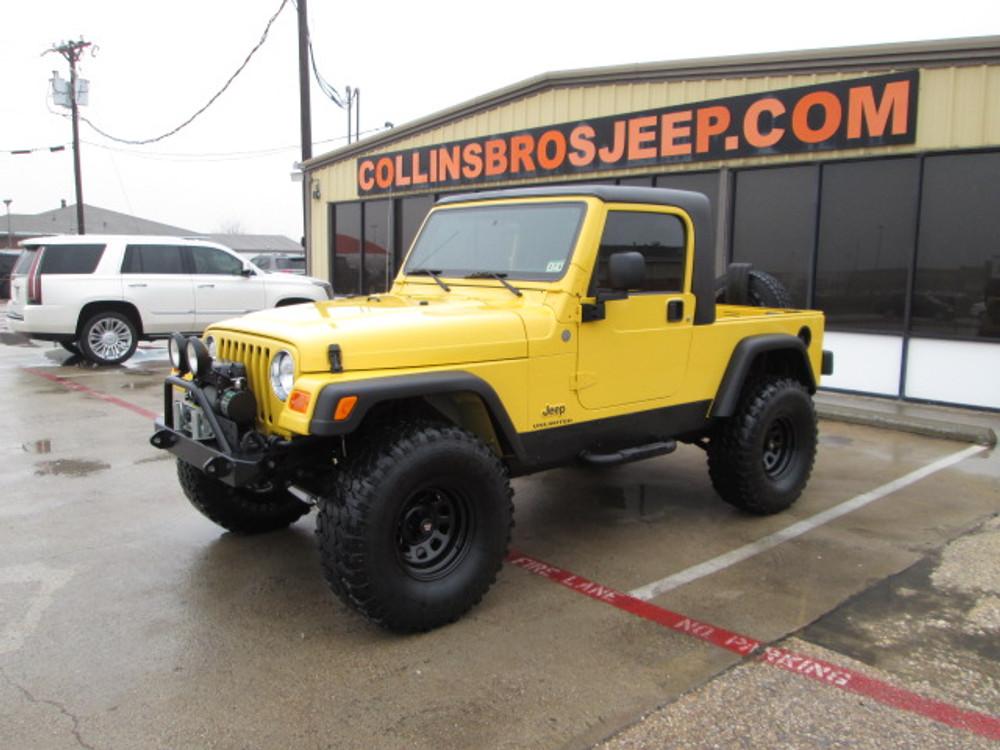 Sold 2004 Jeep Lj Wrangler Unlimited Half Cab Conversion Stock