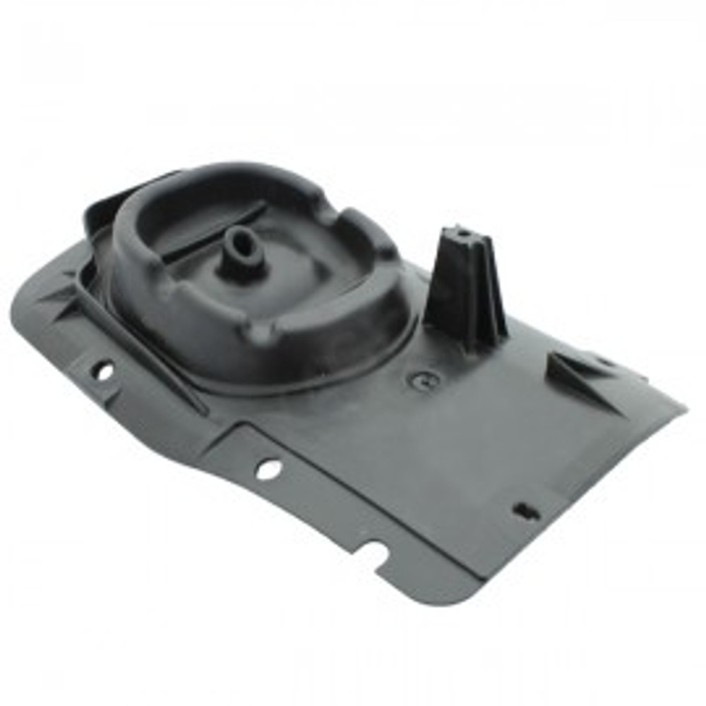 Fits 2003-2006 Jeep Wrangler TJ Synthetic Black Leather Shift Boot . Vinyl Part Only