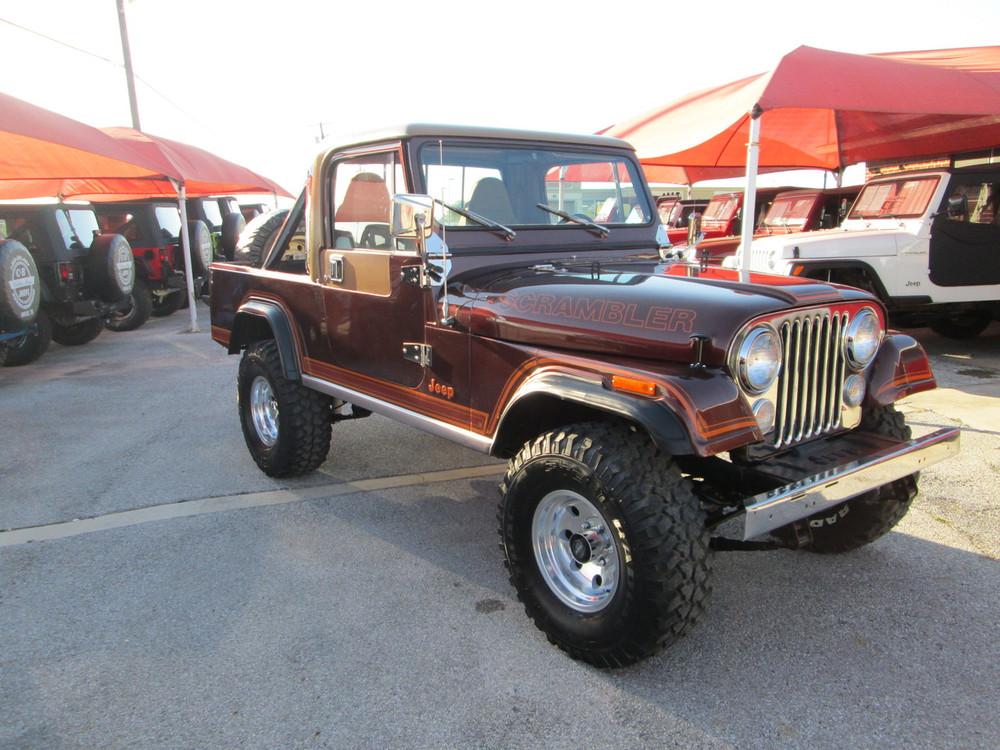 Sold 1981 Jeep Cj 8 Scrambler Laredo Stock 069448