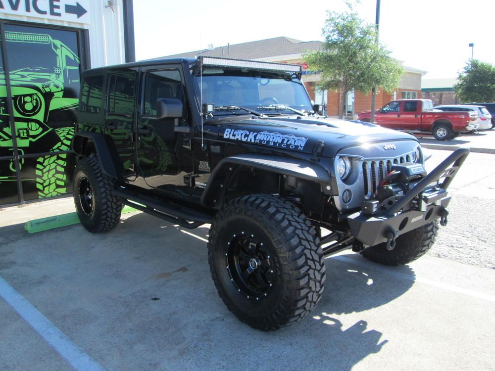 SOLD 2017 Black Mountain Conversions Unlimited Rubicon Jeep Wrangler Stock#  638302