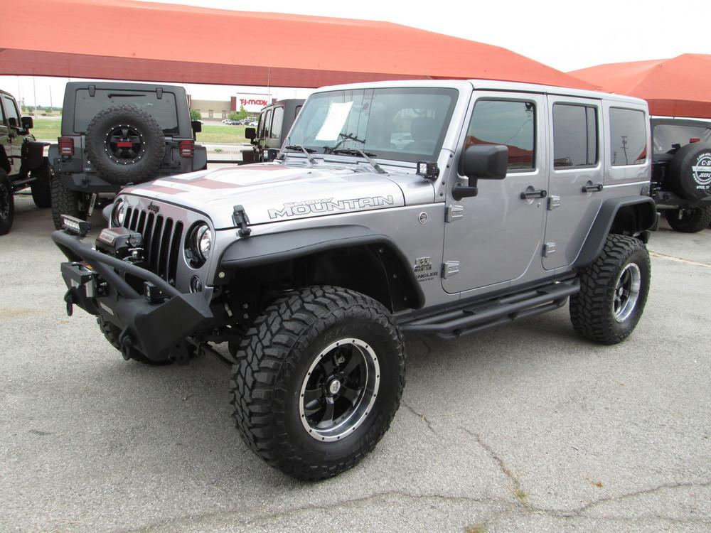 Jeep Wrangler Jku >> Sold Sale Pending 2017 Jeep Wrangler Jku Smoky Mountain Edition