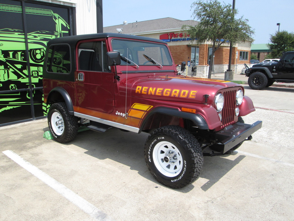 SOLD 1984 Jeep CJ-7 Renegade Hardtop Auto Stock# 102670
