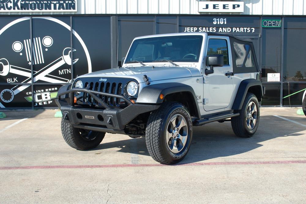 Jeep Wrangler Jk >> 2008 Jeep Wrangler Jk 2 Door Silver Stock 566717 Collins Bros Jeep