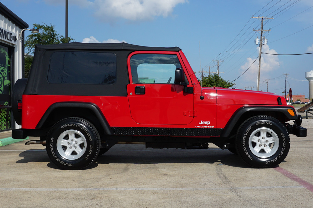 2004 Jeep Wrangler LJ Unlimited #791450