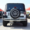 '07 Current JK Stainless Rear Dual Tube Bumper