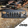 '07-Current JK Black Mountain Angry Grill w/Seal & w/Black Jeep Emblem