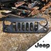 '07-Current JK Black Mountain Angry Grill w/Seal & w/Black Jeep Emblem