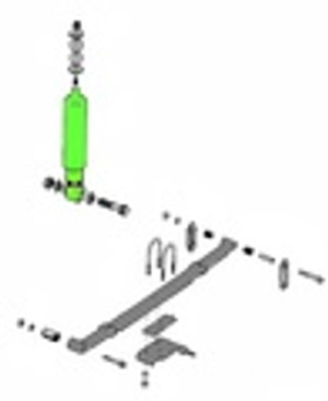 YJ Replacement Suspension Parts (1987-1995)