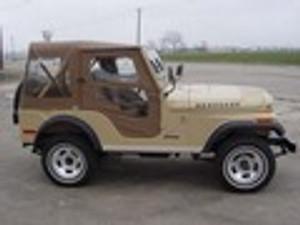 Jeep Tops  Bikini Tops  1955-1986 CJ