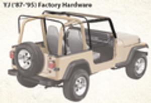 YJ Soft Top Parts