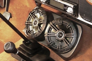 Jeep Centra-Pod Audio