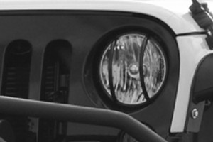 Jeep Lighting  Light Guards
