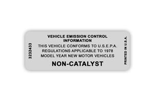 Non-Catalyst Decals