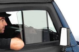 Exterior Door Glass Jeep Parts