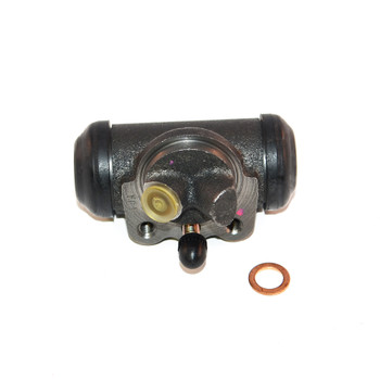 '63-'67 CJ Right Front Wheel Cylinder w/Angled Hose Connection