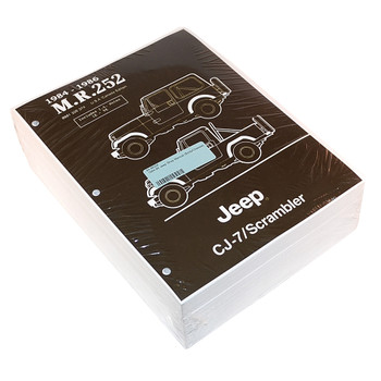 '84-'86 Jeep Service Manual (Body/Chassis)