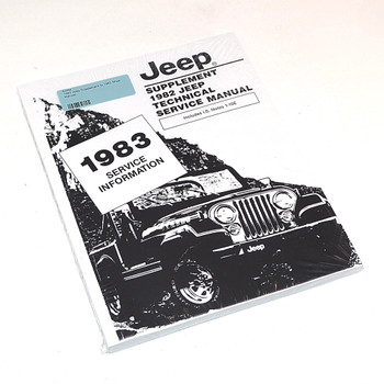 '83 Jeep Supplement to '82 Service Manual