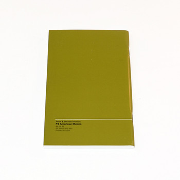 1986 CJ Factory Owners Manual