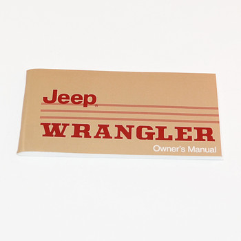 '88-'89 YJ Factory Owners Manual