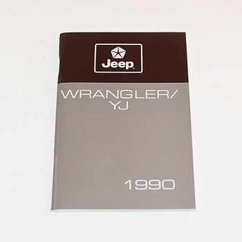 1990 YJ Factory Owners Manual