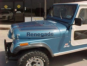 '77-'78 CJ Renegade Decal Kit