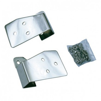 '03-'06 TJ Stainless Mirror Relocation Bracket Kit
