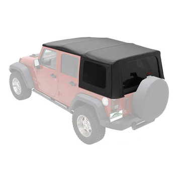'07-'09 JK Unlimited Factory Replacement Top w/tinted windows w/o door skins