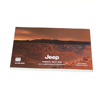 2001 TJ Factory Owners Manual