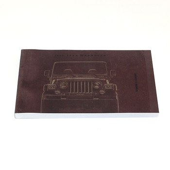 2002 TJ Factory Owners Manual