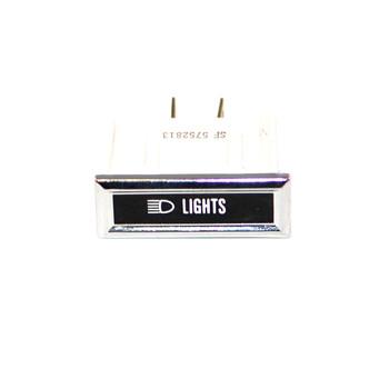 '76-'86 CJ Lights Dash Indicator Light (NOS)