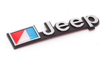 "'76-'86 CJ AMC ""Jeep"" Emblem (MOPAR Licensed Product)"