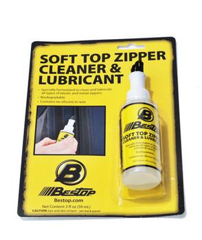 2-oz bottle of Bestop Soft Top Zipper Cleaner & Lubricant
