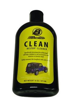 16-oz bottle of Bestop Top Cleaner