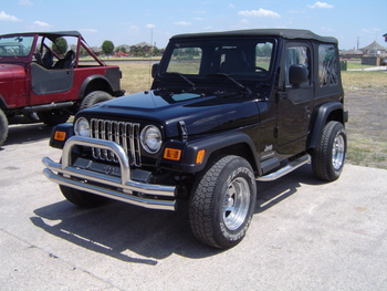 '87-'06 YJ/TJ/LJ Stainless Bumper Combo w/Side Bars