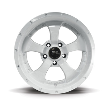 "Gloss White 17x9"" Alloy Wheel"