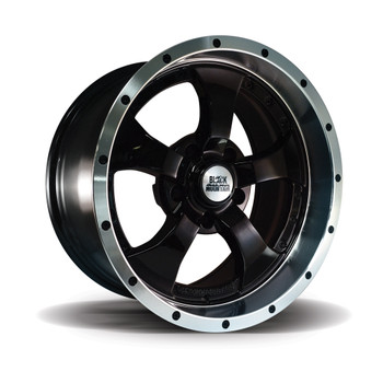 "Two-Tone Gloss 17x9"" Alloy Wheel"