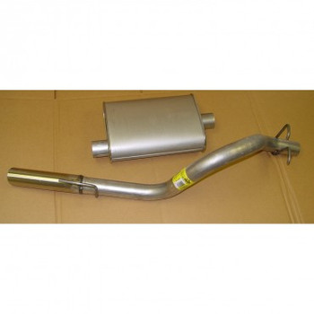 '91-'95 4.0L YJ Cat-Back Exhaust System